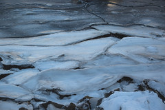 Ice forms (Bente Nordhagen) Tags: vinter ice winter forms lines