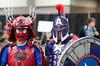 Temporal Anomaly Avengers (misterperturbed) Tags: awesomecon awesomecon2018 awesomecondc2018 washingtondc spiderman samurai gladiator captainamerica