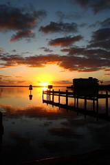 SUNRISE (R. D. SMITH) Tags: sunrise river dawn water morning melbourneflorida brevardcountyflorida indianriver florida