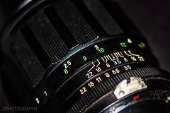 Precision (shamahzoha) Tags: macro macromonday lens numbers precision closeup vibrant colorful abstract backintheday 7dwf minimal