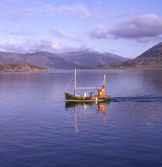 Coming home (M McBey) Tags: northcoast200 ullapool blue herring fishery