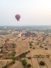 Myanmar-20180323-3230518 (ShaneAndRobbie) Tags: mandalayregion myanmarburma mm myanmar burma bagan balloonsoverbagan ballooning hotair balloon