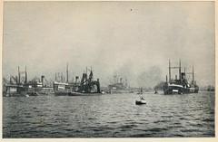 platenatlas 1922  ill Amsterdam. handelskade javakade (janwillemsen) Tags: bookillustration 1922 schoolbook amsterdam