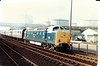 55015 Camperdown JunctionDundee (dhtulyar) Tags: deltic ecml napier 55 delta 55015 tulyar camperdown dundee