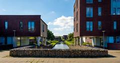 _DSC0903 (durr-architect) Tags: almere modern housing lake water statue art light