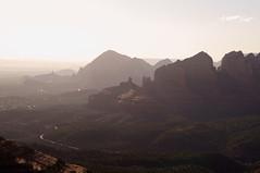 Layers (s81c) Tags: redrocks roccerosse sedona arizona americansouthwest usa schneblyhillroad sunset tramonto shadows ombre warmlight lucecalda outlook corrugatedlandscape paesaggioondulato panorama hills colline valleys valli layers strati canyon
