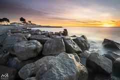 GRAO DE BURRIANA.ABR2018_3 (MSB.Photography) Tags: burriana grao castellon sony a7iii a7m3 ilce7m3 samyang samyung12mm playa beach granangular wideangle amanecer sunrise nubes clouds paisaje landscape seascape largaexposicion largeexposure piedras stones agua sea mar costa cielo sonya7iii sonya7m3