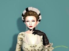 Rococo Charla AD (Sofia ~Chateau D'Esprit~) Tags: rococo baroque secondlife chateaudesprit ad pompadour 18th century 1760s roleplay