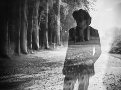 A haunting waiting to happen (Peterix) Tags: blackwhite doubleexposure transparent ghostlike portrait selfportrait eerie conceptual