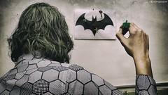 Joker 1492 (kingeston) Tags: kingeston ernesto fiorentino set joker casalingo casa dccmonics batman pipistrello cosplay cosplayer