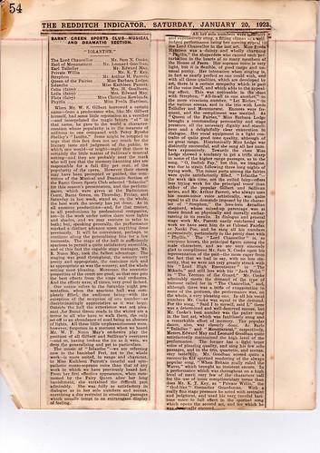1923: Jan Review 1