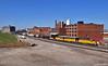 "Eastbound Transfer in Kansas City, MO (""Righteous"" Grant G.) Tags: up union pacific railroad railway locomotive train trains east eastbound transfer freight kansas city missouri"
