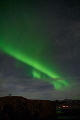 Kirkjufjara_aurora_L1090475 (nocklebeast) Tags: auroraborealis iceland kirkjufjarabeach nrd aurora stars ocean beach vik southcoast