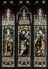 Saundby, St Martin's church window n.V (Jules & Jenny) Tags: saundby stainedglasswindow kempe stmartinschurch