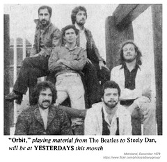 1978 Orbit (albany group archive) Tags: albany ny metroland musician band group 1978 orbit 1970s old vintage photos picture photo photograph history historic historical