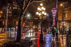 Rainier than Usual 🚶☔ Vancouver, BC (Michael Thornquist) Tags: gastown rainierhotel canadashistoricplaces portlandhotelsociety recovery cordovastreet carrallstreet neon neonsign raincouver city streetphoto reflection sett sidewalk crosswalk rain umbrella gaslamp abbottstreet waterstreet sharethecoast vancouver vancouverbc 604now photos604 explorebc explorecanada canoncanada ilovebc britishcolumbia pacificnorthwest pnw canada 500px