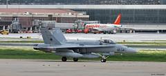 Ejército del Aire McDonnell Douglas EF-18M Hornet C.15-56/12-14, Ala 12 at Malaga AFB/LEMG for DAPEX-18 (Mosh70) Tags: malagacostadelsolairport lemg ejércitodelaire ef18m ef18mhornet mcdonnelldouglas ala12 dapex18