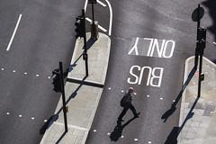 Only Bus. (Jose_Pérez) Tags: street londres london streetphoto urban blackandwhite blancoynegro
