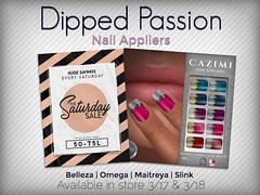 Saturday Sale 3/17 (Dima Plessis - { C A Z I M I }) Tags: cazimi sl second life nail nails polish applier appliers maitreya belleza omega slink saturday sale 75l