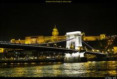 Budapest Chain Bridge & Castle at night (episa) Tags: night cruise bridge budapest olympusomdem1mkii olympusmzuikodigitaled25mmf12prolens danumbe castle chainbridge march92018 inexplore