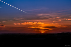 Sunset from my balcony - Pôr do sol na minha varanda (Yako36) Tags: portugal peniche ferrel pôrdosol sunset sky céu paisagem landscape nikon2485 nikond750