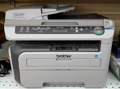 Brother DCP-7040 scanner printer copier (Jacques Trempe 3,210K hits - Merci-Thanks) Tags: vintage electronic fax scanner copier brother