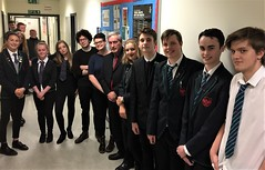 Attending Dunbar Grammar Amnesty meeting