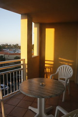 View of the 1st Balcony (blackunigryphon) Tags: bonaventure vacationvillage westonflorida florida southernflorida balcony balconydecor chic boho bohemian gypset gypsetter jetsetter vacation