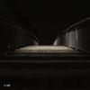 Bright side (MF[FR]) Tags: samsung nx1 paris france îledefrance format carré square long exposure pose longue dark sombre nuit night stairs escaliers 13è arrondissement light lumière