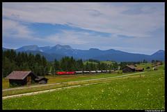 ÖBB 2016 041, Mittenwald 03-08-2017 (Henk Zwoferink) Tags: henkzwoferink öbb 2016041 taurus obb mittenwaldmittenwaldbayernduitslandde