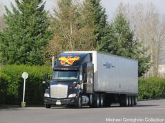 Wilson Logistics Peterbilt 579 4 axle, Truck# 42031 (Michael Cereghino (Avsfan118)) Tags: wilson logistics haney truck line peterbilt 579 4 axle quad four heavy haul fleet trucking semi
