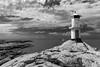 Marstrand/Sverige 2013 (karlheinz klingbeil) Tags: lighthouse leuchtturm sverige ocean northsea schweden wasser monochrome water marstrand nordsee meer