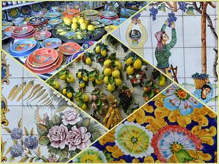 Ceramiche a Vietri sul Mare (Costiera Amalfitana)