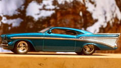 Hot Wheels Chezoom - Blue - 100% Sweet Ride (-SOLO--) Tags: blue macromondays chezoom hotwheels macro canon 6d theblues teal chevrolet 1957 custom flickrfriday 100 7dwf