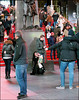 Multiple Cameras, Multiple Posing, Multiple Portraits - Times Square, New York City (TravelsWithDan) Tags: streetphotography candid photographers theothershooter timessquare nyc newyorkcity manhattan winter people outdoors city urban nighttime posing canong3x ngc