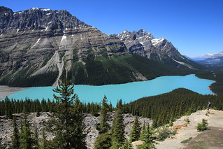 EOS04480 Another shot of Peyto Lake.  Banff National Park. Natural Colors. BEST VIEWED LARGE