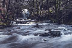 Bowlees Beck (ianbrodie1) Tags: bowlees middleton teesdale waterfall summerhill force gibsons cave beck county durham water flow rocks trees leefilters moss winter