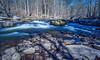 Spring Flow In The Ten Mile River (John Kocijanski) Tags: landscape water spring river longexposure leebigstopper bridge sullivancounty stonearchbridge canon5dmkii canon1740mmllens