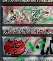 HH-Wheatpaste 3623 (cmdpirx) Tags: hamburg germany reclaim your city urban street art streetart artist kuenstler graffiti aerosol spray can paint piece painting drawing colour color farbe spraydose dose marker stift kreide chalk stencil schablone wall wand nikon d7100 paper pappe paste up pastup pastie wheatepaste wheatpaste pasted glue kleister kleber cement cutout