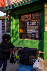 Untitled (Alfredo Roccia) Tags: rosso monochrome colours black white street view berlin canon eos 60d sky light shadows clouds city town sea cold winter