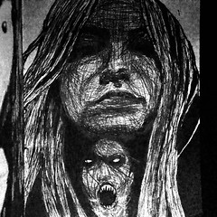 44 (onesecbeforethedub) Tags: onesecbeforetheend onesecaftertheend onesecaftertjelaughter vassilis galanos drawing sketch ink inkonly art artist doodling sketchoftheday goth gothic gothgoth gothmoth ladyinsquare quicksketch quickdraw quickart venus