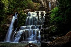 Nauyaca Waterfalls - Drop 2 (Rupam Das) Tags: nikon nikkor d810 24120mm longexposure water waterfall landscape tour tourism outdoor rock rocky fun adventure nature natural magestic scenic picturesque grandoise