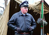 Man in German uniform 8336 (Tony Withers photography) Tags: luftwaffe german uniform military enactment 100 years celebration raf manston ww2 wwii airfield
