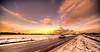 Sunrise in winter. (Alex-de-Haas) Tags: 11mm aurorahdr d750 dutch hdr holland irix mx5 mazda mazdamx5nd miata nd nederland nederlands netherlands nikon noordholland photomatix westfrisia westfriesland amazing art artistic artistiek auto beautiful betoverend bevroren boerenland car cloud clouds cold daglicht daylight desolate farmland fire flat frozen heaven hemel kou kunst landscape landschap licht light lucht mooi plat polder roadster skies sky sneeuw snow sunrise vehicle verlaten vuur water winter wolk wolken wonderful zonsopgang