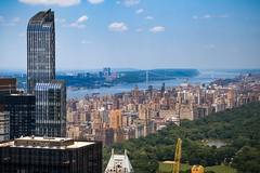 Top of the Rock Observation Deck (kareszzz) Tags: centralpark us usa ny nyc newyork canon6d ef24105 landscape cityscape hudsonriver newjersey upperwestside sights