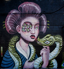 """Bushwick Collective - 2018 • <a style=""""font-size:0.8em;"""" href=""""http://www.flickr.com/photos/134414577@N06/41209953552/"""" target=""""_blank"""">View on Flickr</a>"""