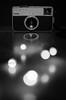 Instamatic (Spannarama) Tags: camera kodak instamatic lights bokeh shiny reflections table polished blackandwhite