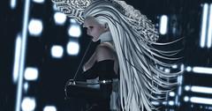 The Lady in Waiting (riowyn.slife) Tags: ay cybernetics secondlife sl insilico scifi cyberpunk