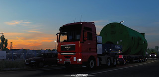 MAN TGA 660 - first Heavy Load [ETS2]