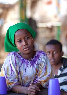 Portrait of somali children, Awdal region, Zeila, Somaliland